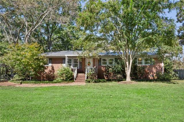 205 Woodbine Circle, Iva, SC 29655 (MLS #20232561) :: Les Walden Real Estate