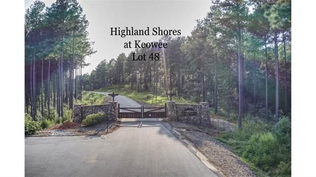 Lot 48 Highland Shores At Lake Keowee Road, Salem, SC 29676 (#20232908) :: DeYoung & Company