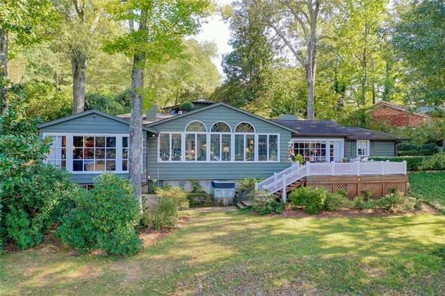 830 Lakeside Drive, Anderson, SC 29621 (MLS #20232937) :: Les Walden Real Estate