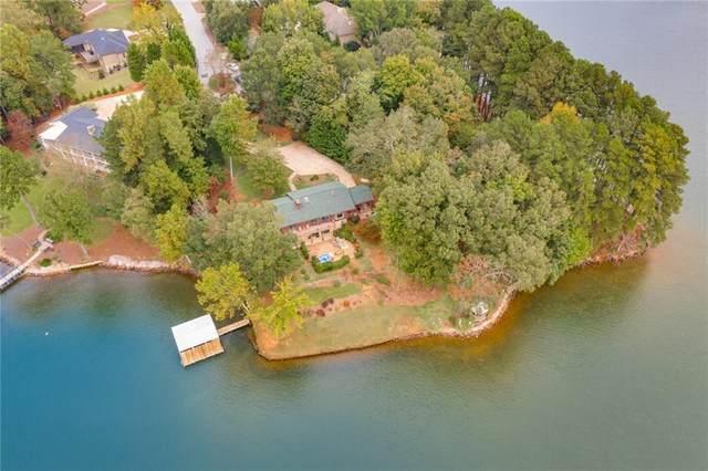 6030 Lake Point East Drive, Seneca, SC 29672 (MLS #20233158) :: Tri-County Properties at KW Lake Region