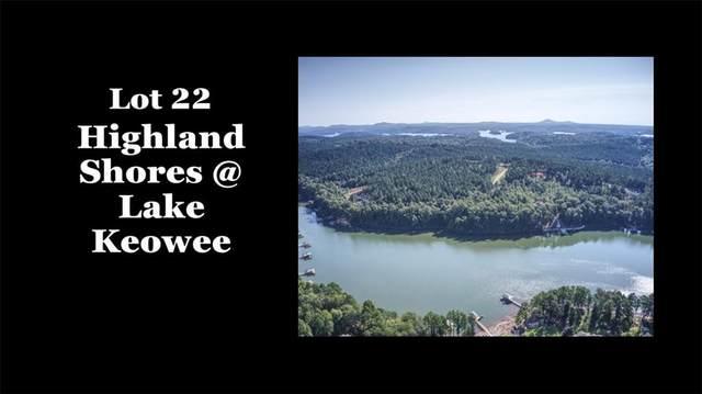 Lot 22 Highland Shores At Lake Keowee Drive, Salem, SC 29676 (#20233439) :: DeYoung & Company