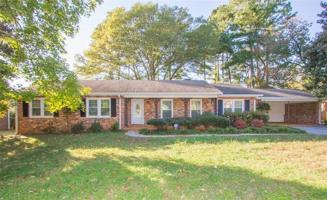 1427 Hilltop Drive, Anderson, SC 29621 (MLS #20233765) :: Tri-County Properties at KW Lake Region