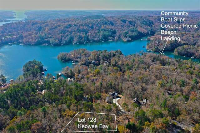 Lot 128 Keowee Bay Circle, Salem, SC 29676 (#20234185) :: Expert Real Estate Team