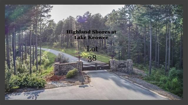 Lot 38 Highland Shores At Lake Keowee Road, Salem, SC 29676 (MLS #20234909) :: Les Walden Real Estate