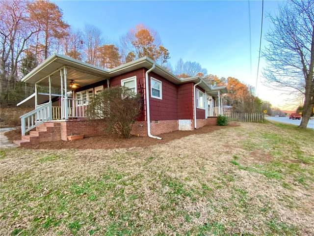 631 Pumpkintown Highway, Pickens, SC 29671 (MLS #20235444) :: Les Walden Real Estate
