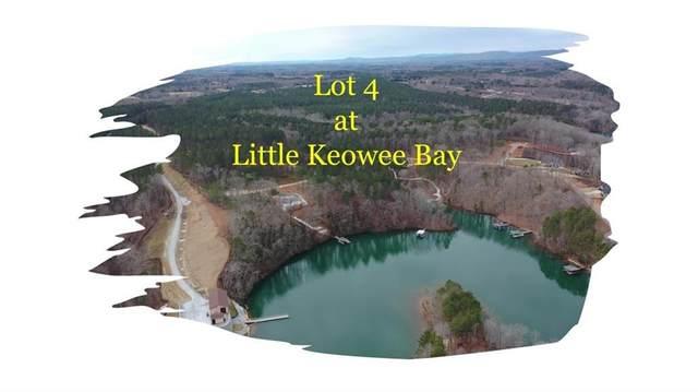 Lot 4 Little Keowee  Little Keowee Boulevard, West Union, SC 29696 (MLS #20235451) :: Lake Life Realty