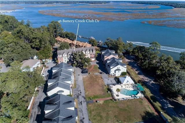 46 Battery Creek Club Drive, Beaufort, SC 29902 (MLS #20235513) :: The Powell Group