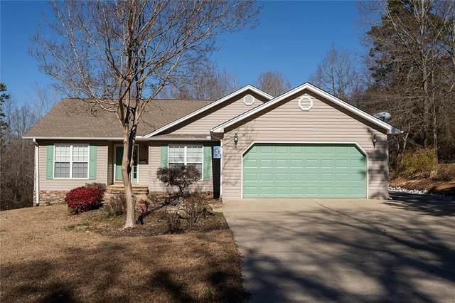 105 Shoreline Drive, Seneca, SC 29672 (MLS #20235689) :: Tri-County Properties at KW Lake Region