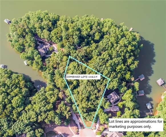 18L & 19L Greystoke Cove, Seneca, SC 29678 (MLS #20236038) :: The Powell Group