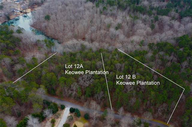 Lots 12A & 12B Keowee Plantation, Seneca, SC 29672 (MLS #20236140) :: Tri-County Properties at KW Lake Region
