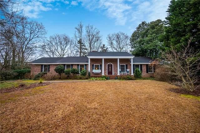 110 Ashley Road, Clemson, SC 29631 (MLS #20236343) :: Les Walden Real Estate
