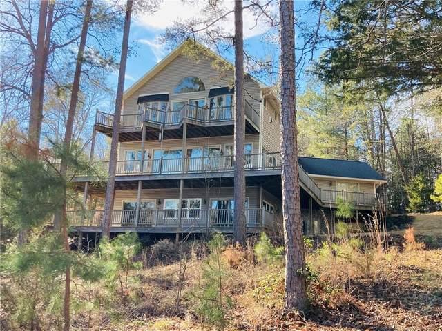 140 Pine Tree Trace, Lavonia, GA 30553 (MLS #20236425) :: Les Walden Real Estate