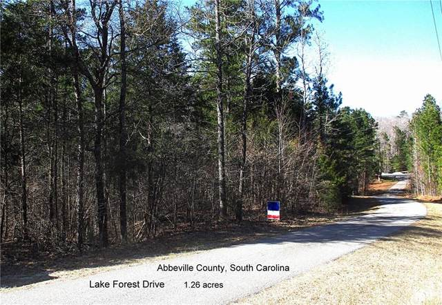 Lot 58 Lake Forest Drive, Abbeville, SC 29620 (MLS #20236484) :: Tri-County Properties at KW Lake Region