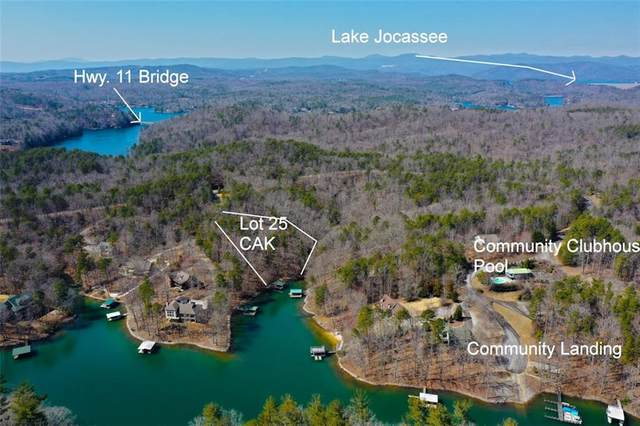 Lot 25 Cliffs At Keowee, Sunset, SC 29685 (MLS #20237155) :: The Powell Group