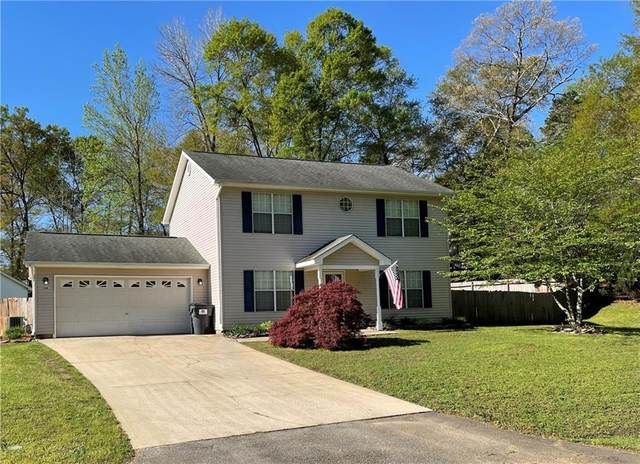 104 Quail Haven Drive, Easley, SC 29642 (MLS #20238237) :: The Powell Group