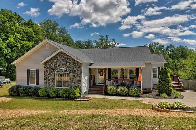 451 Tabor Woods Road, Pickens, SC 29671 (MLS #20239076) :: Les Walden Real Estate
