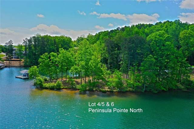 Lots 4/5 & 6 Peninsula Pointe North, West Union, SC 29696 (MLS #20239321) :: Les Walden Real Estate