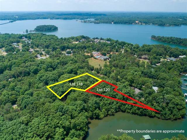 Lt 120R, 118R Hidden Lake Drive, Anderson, SC 29625 (MLS #20239791) :: Tri-County Properties at KW Lake Region