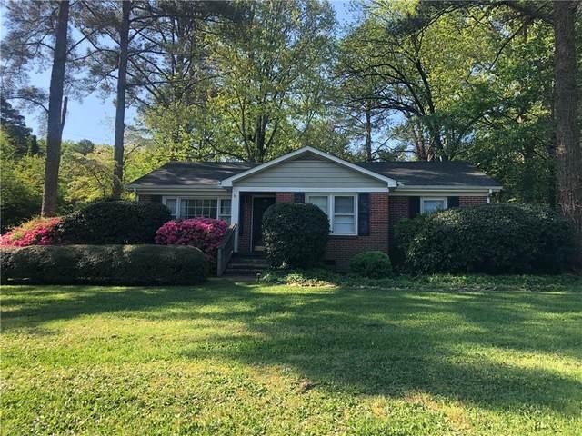 206 Skyview Drive, Clemson, SC 29631 (MLS #20239910) :: Les Walden Real Estate