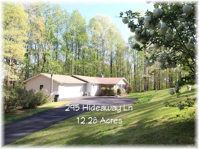 295 Hideaway Lane, Fair Play, SC 29643 (MLS #20240053) :: Les Walden Real Estate