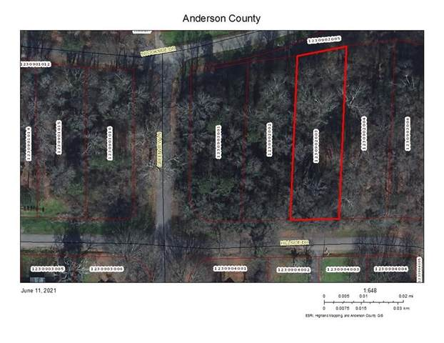 Lot 102 Hillside Drive, Anderson, SC 29625 (MLS #20240238) :: The Powell Group