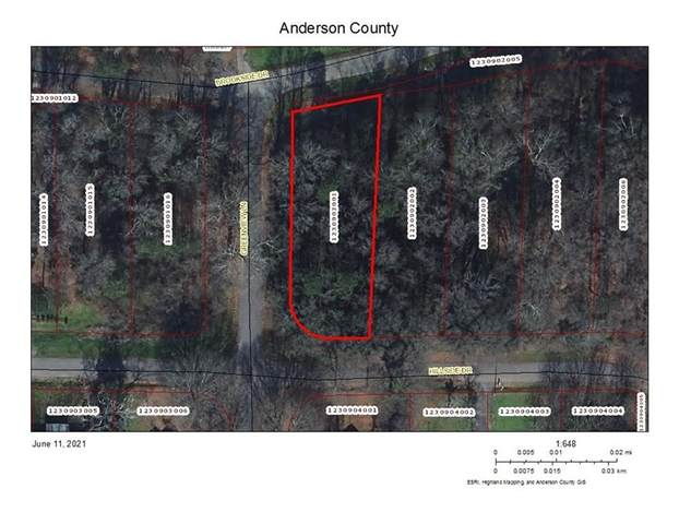 Lot 104 Hillside Drive, Anderson, SC 29625 (MLS #20240258) :: The Powell Group