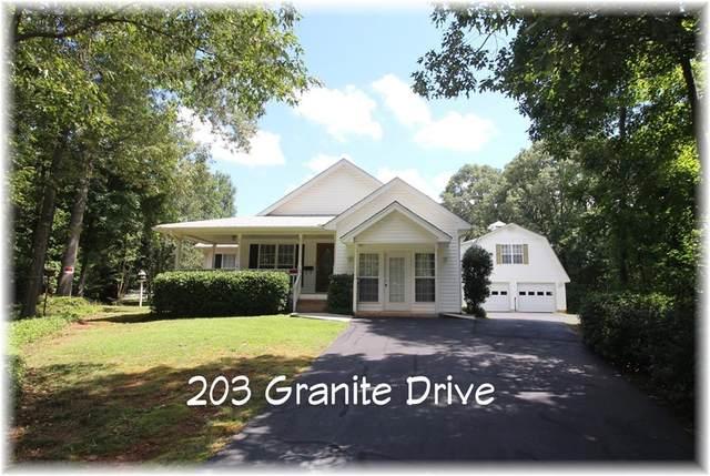 203 Granite Drive, Seneca, SC 29678 (MLS #20240649) :: Les Walden Real Estate