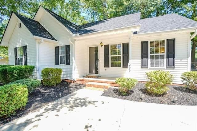 206 Longview Drive, Williamston, SC 29697 (MLS #20240668) :: Les Walden Real Estate