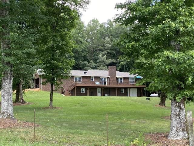 401 Prater's Creek Road, Pickens, SC 29671 (MLS #20240680) :: Les Walden Real Estate