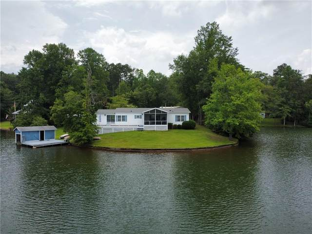 470 Whitewater Point Road, Tamassee, SC 29686 (MLS #20241234) :: The Powell Group