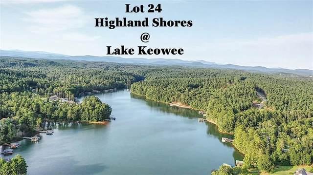 Lot 24 Highland Shores, Salem, SC 29676 (MLS #20241754) :: Lake Life Realty