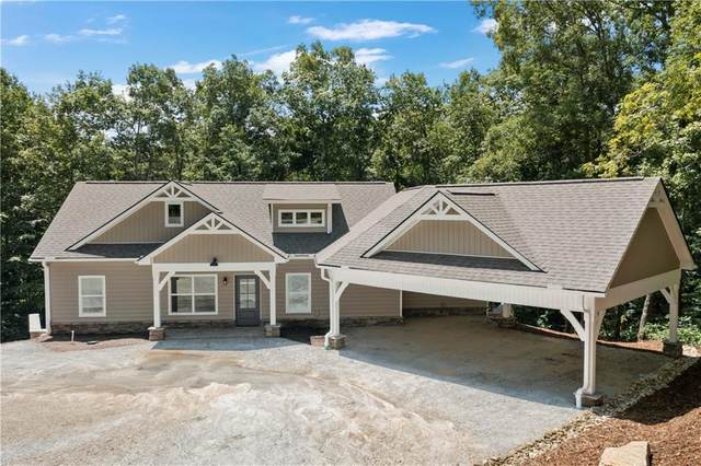 235 Old Keowee Church Road, Six Mile, SC 29682 (MLS #20241983) :: Les Walden Real Estate