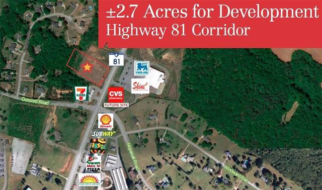 LOT A Hwy 81, Anderson, SC 29621 (MLS #20242768) :: Tri-County Properties at KW Lake Region