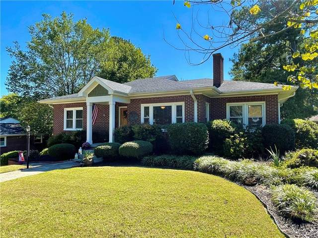 110 Clinton Drive, Anderson, SC 29621 (MLS #20243747) :: Les Walden Real Estate