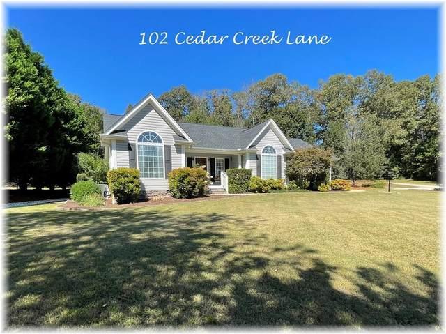 102 Cedar Creek Lane, Seneca, SC 29672 (MLS #20243944) :: EXIT Realty Lake Country