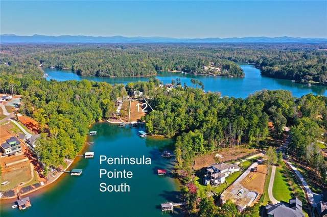 Lot 12 Peninsula Pointe South, West Union, SC 29696 (MLS #20244479) :: Prime Realty