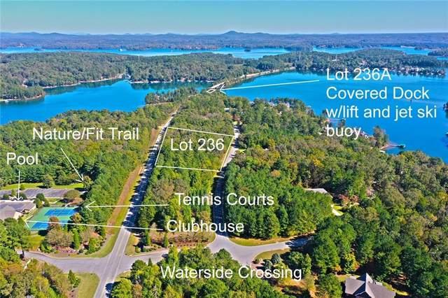 Lot 236&236A Waterside Crossing, Seneca, SC 29672 (MLS #20244580) :: Tri-County Properties at KW Lake Region