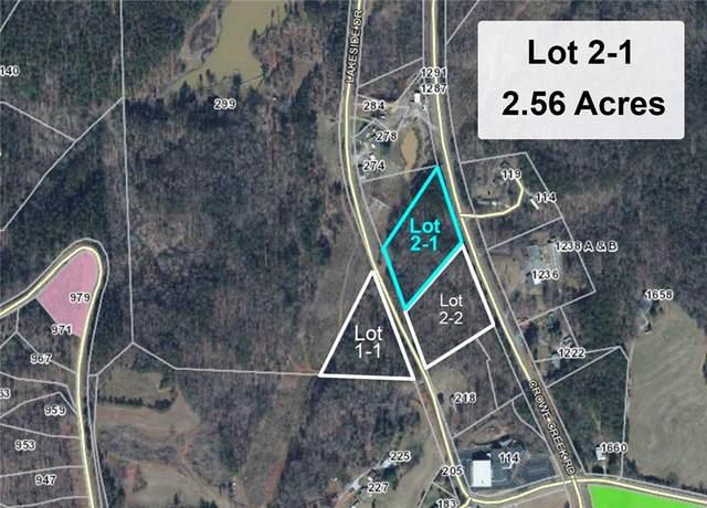 00 Lakeside Drive, Six Mile, SC 29682 (MLS #20244593) :: Les Walden Real Estate