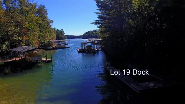 Lot 19 Keowee Bay, Salem, SC 29676 (MLS #20192893) :: Tri-County Properties