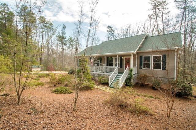 104 Mountain Top Drive, Tamassee, SC 29686 (MLS #20201372) :: Tri-County Properties