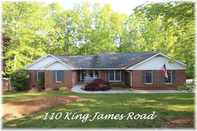 110 King James Road, Seneca, SC 29678 (MLS #20202404) :: Les Walden Real Estate