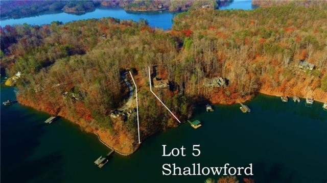 Lot 5 Shallowford At Keowee, Sunset, SC 29685 (#20208818) :: Connie Rice and Partners