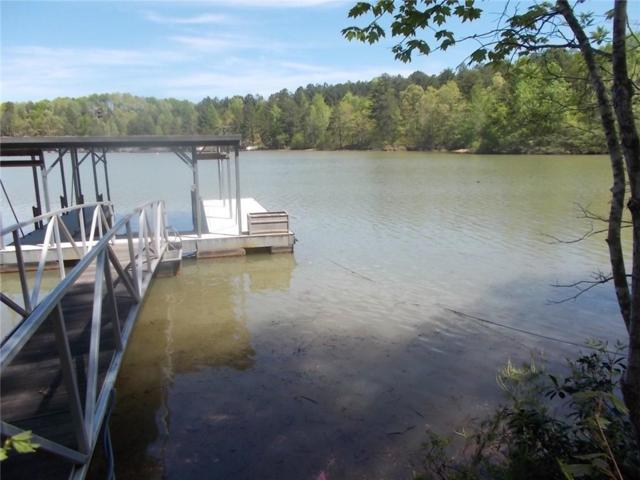 Lot 34 Cove Harbor, Six Mile, SC 29682 (MLS #20214701) :: The Powell Group