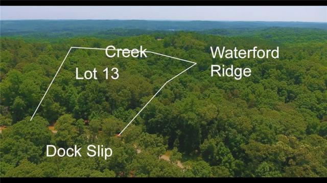 Lot 13 Waterford Ridge, Seneca, SC 29672 (#20216503) :: Connie Rice and Partners