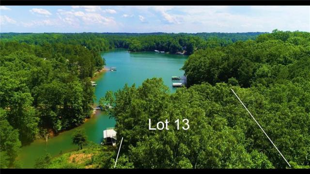 Lot 13 Peninsula Pointe South, West Union, SC 29696 (#20218769) :: Connie Rice and Partners