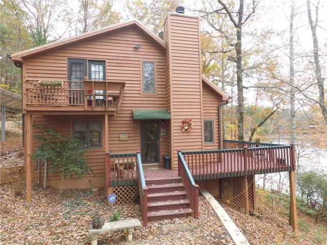 134 Lake Drive, Mountain  Rest, SC 29664 (MLS #20223137) :: Tri-County Properties at KW Lake Region