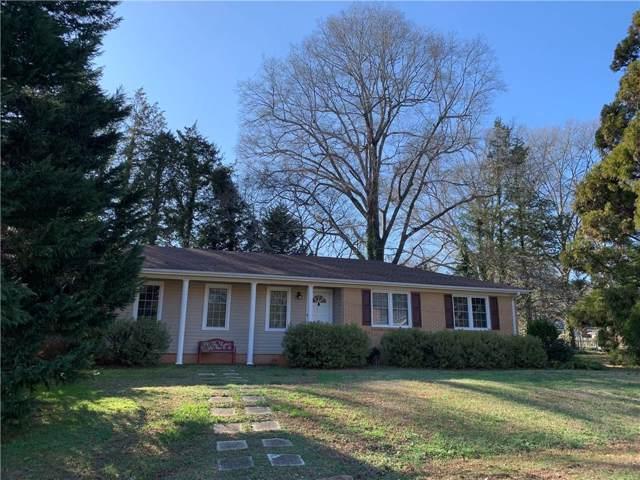 301 Boggs Street, Pendleton, SC 29670 (MLS #20224612) :: Les Walden Real Estate