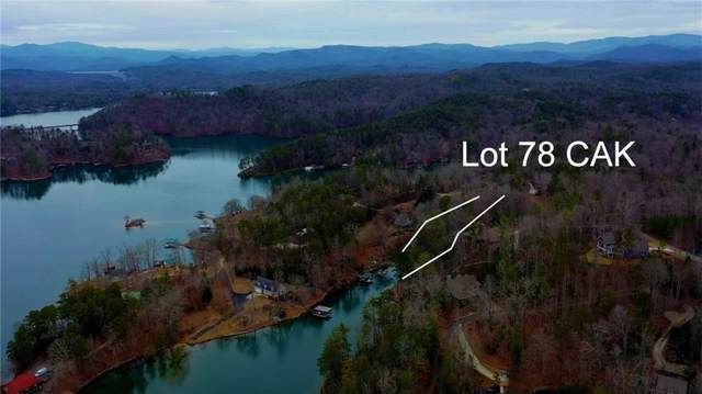 Lot 78 Cliffs At Keowee, Sunset, SC 29685 (MLS #20224963) :: The Powell Group