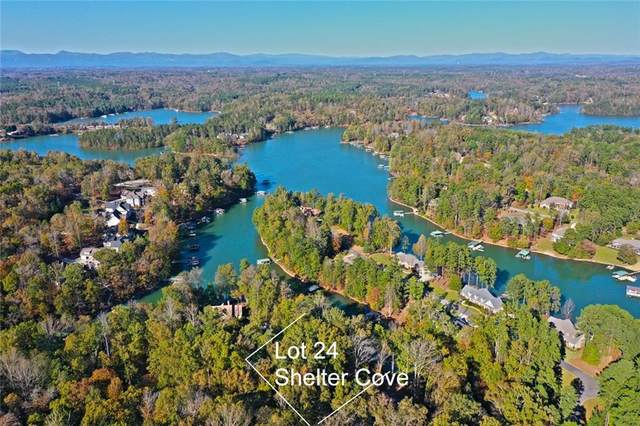 Lot 24 Shelter Cove, Seneca, SC 29672 (MLS #20233671) :: Lake Life Realty
