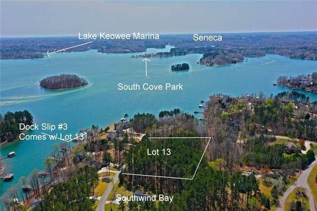 Lot 13 Southwind Bay, Seneca, SC 29672 (MLS #20237258) :: Lake Life Realty